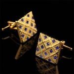 Золотая мозаика Запонки