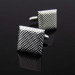 Серебряное плетение Запонки