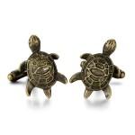 Старинные запонки Черепахи