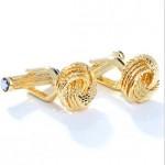 Золотое Плетение Montblanc Запонки
