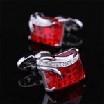 Рубиновый кристалл Запонки