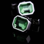 Изумрудный кристалл Запонки