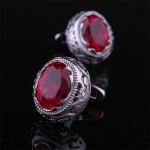 Красный бриллиант Запонки