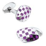 Фиолетовые запонки