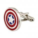 Капитан Америка Запонки