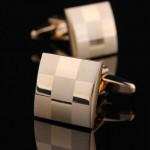 Золотые шахматы Запонки